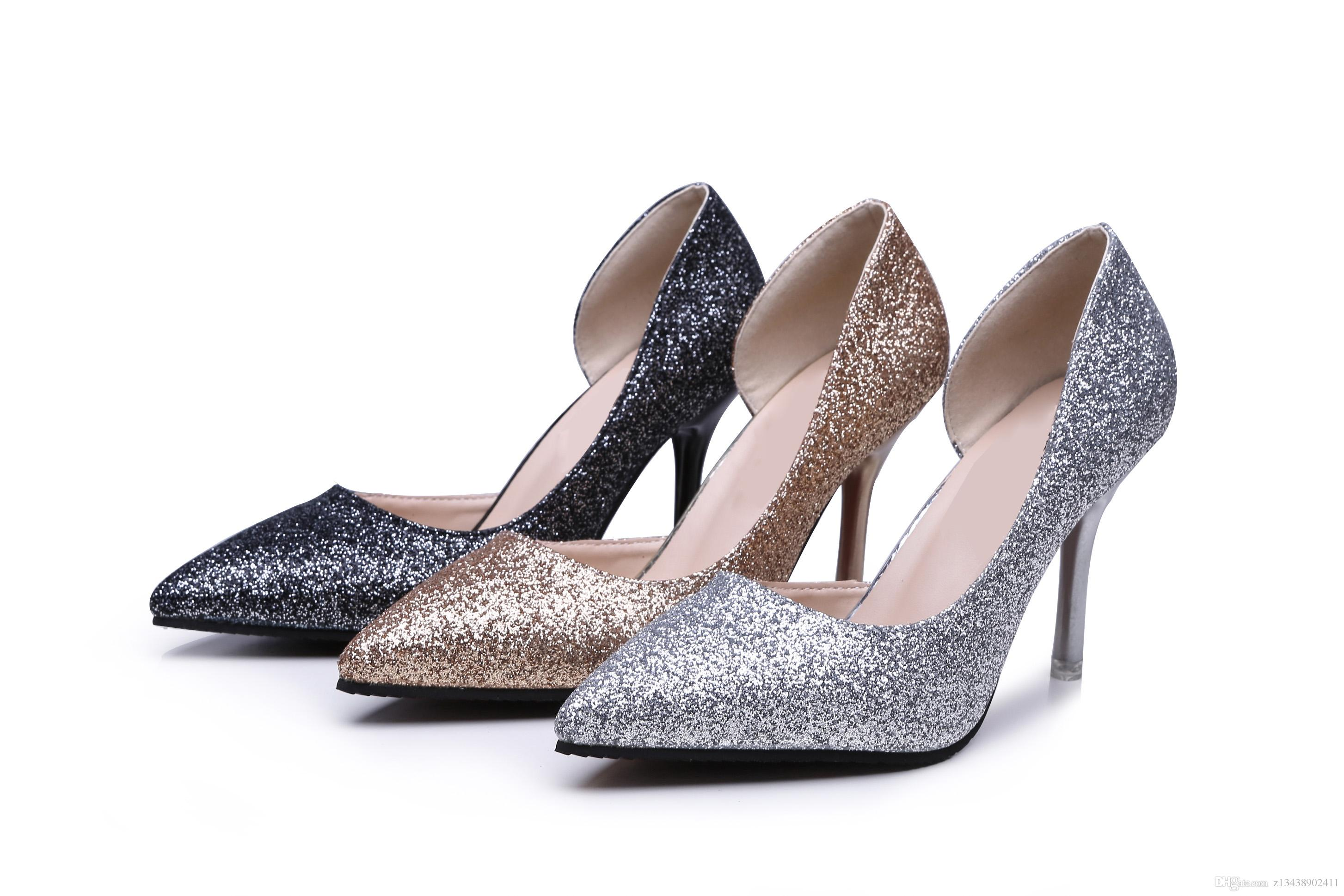 fashion sexy women's high heeled shoes, the latest global exclusive