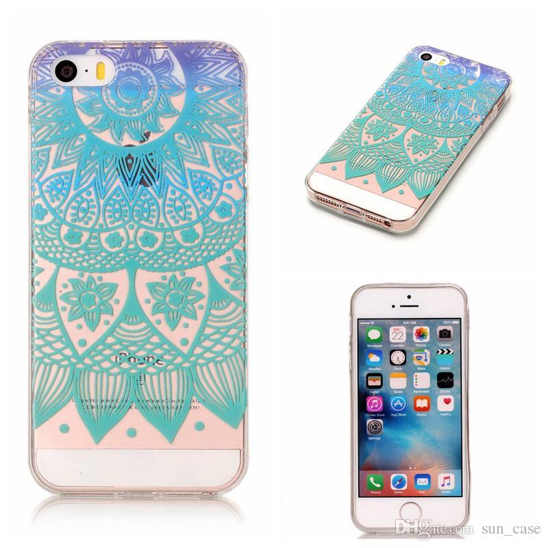 Soft Skin Apple iPhone 5C 5S 5SE 6S 4.7 7 8 Plus 5.5 Touch 5 6 Huawei P8lite 2017 TPU IMD Custodia Gel Cover posteriore morbida in gomma