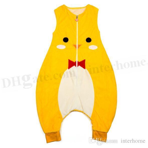 Kinder Tier Schlafsack Baby Winter Decken Eule Monster Schlafsack Mode Schlafsack Strampler Pyjamas Swaddle Bett Overall D394
