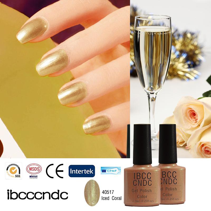 Wholesale 2016 Summer Fashionable Champagne Gold Nail Gel Polish ...