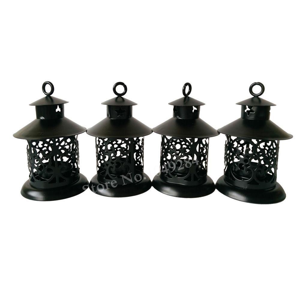 Cheap Metal Candle Holder Small Iron Retro Lantern Home Decoration ...