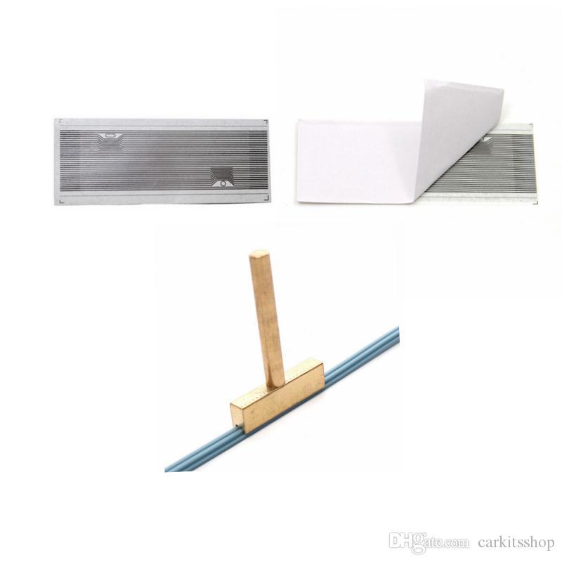 Für Mercedes Vito Ribbon Kabel Cluster Pixel Werkzeug Für Benz MB Vito Flache LCD Stecker + Ein T-Tipp gummikabel