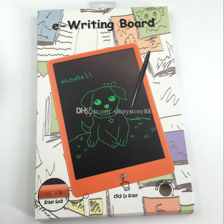 """Ewriting Board LCD Writing Tablet Erase Drawing Toys 10"""" Color eWriter Handwriting Pads Portable Tablet Board ePaper for Adults Children"""