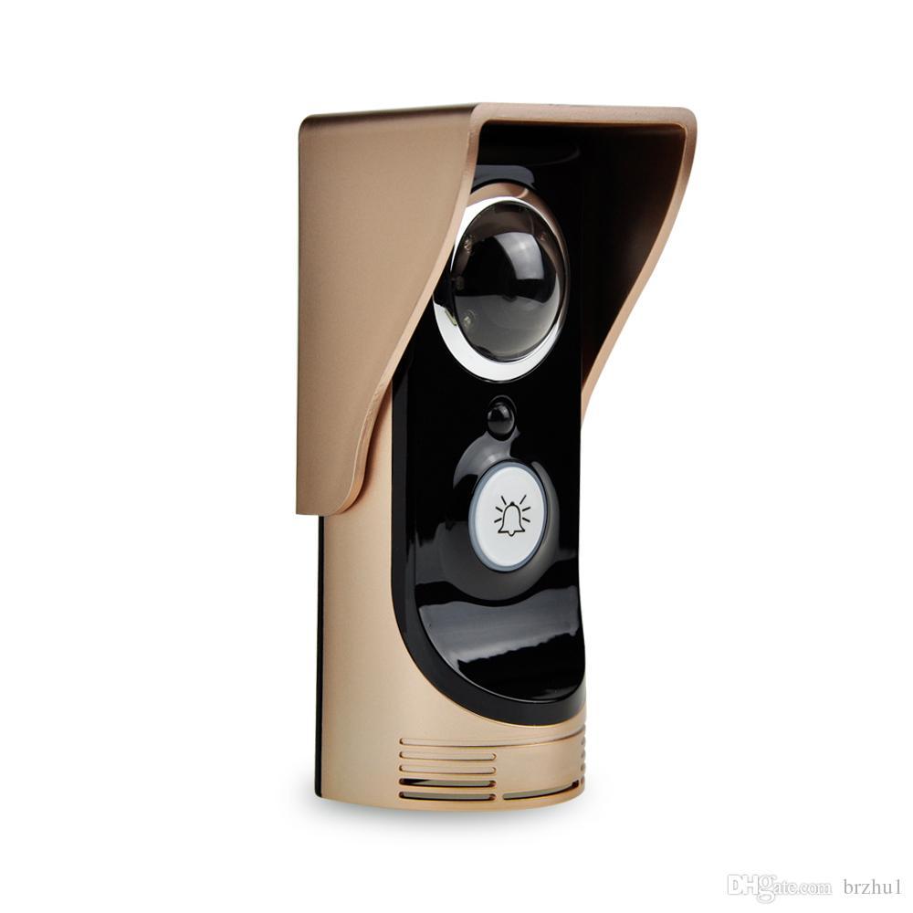 720P WIFI Doorbell intercom APP Remote Control Video Door Phone