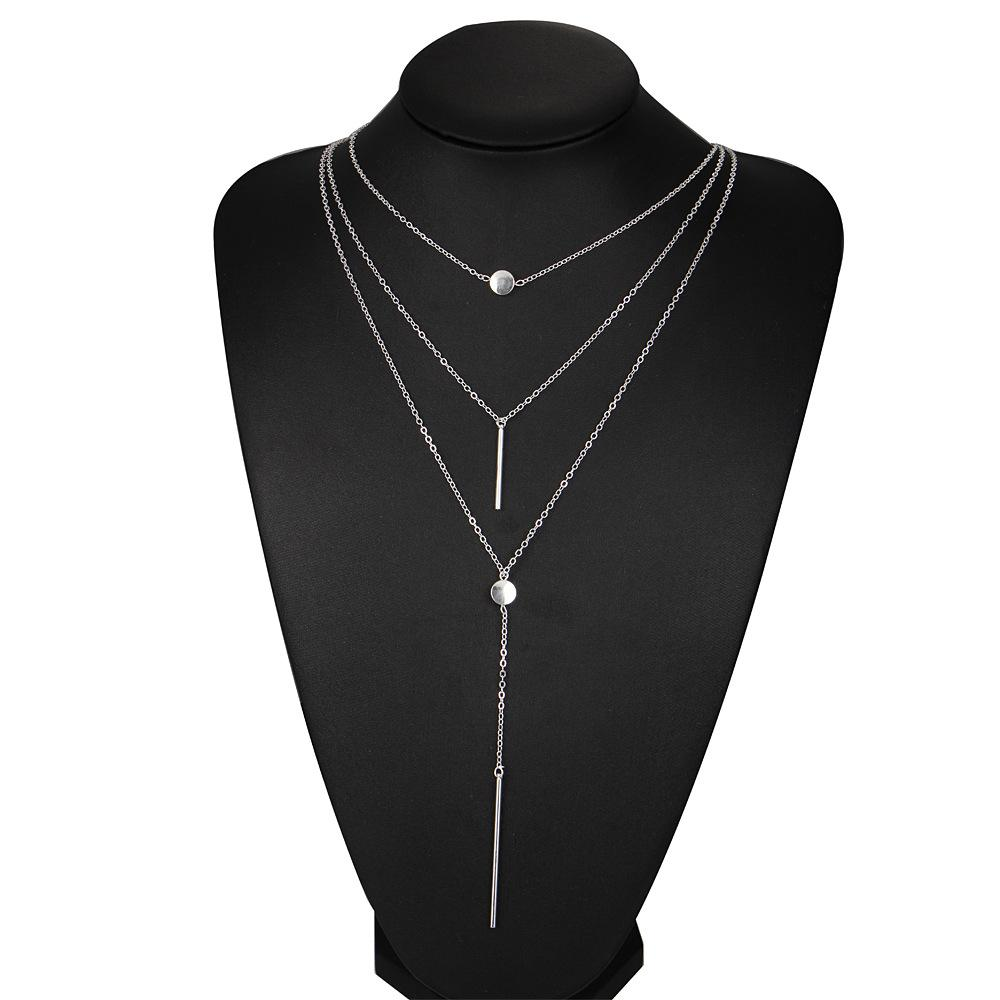 Tassel Necklace Jewelry fashion new sell Multi Layers Kendra Gemstone Insprired Necklace Charms Chains Jewelry Chokers New