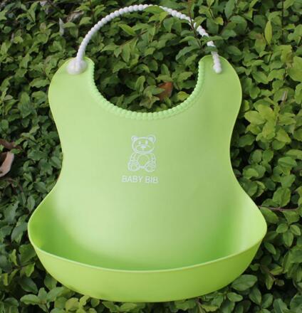 Waterproof Bibs New Baby Infants Kids Cute Bibs Lunch Bibs Newborn Children Waterproof Towel Washable Feeding Silicone Burp 0-6T