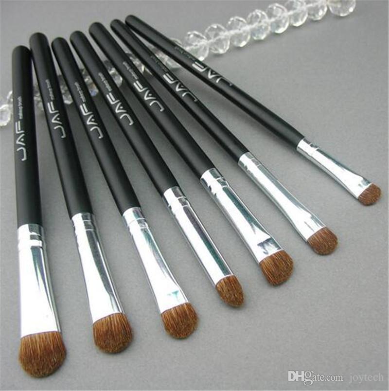 Set pennelli / set Set pennelli trucco rosa Set pennelli trucco naturale Spazzole ombretto naturale JAF Pennelli trucco professionale