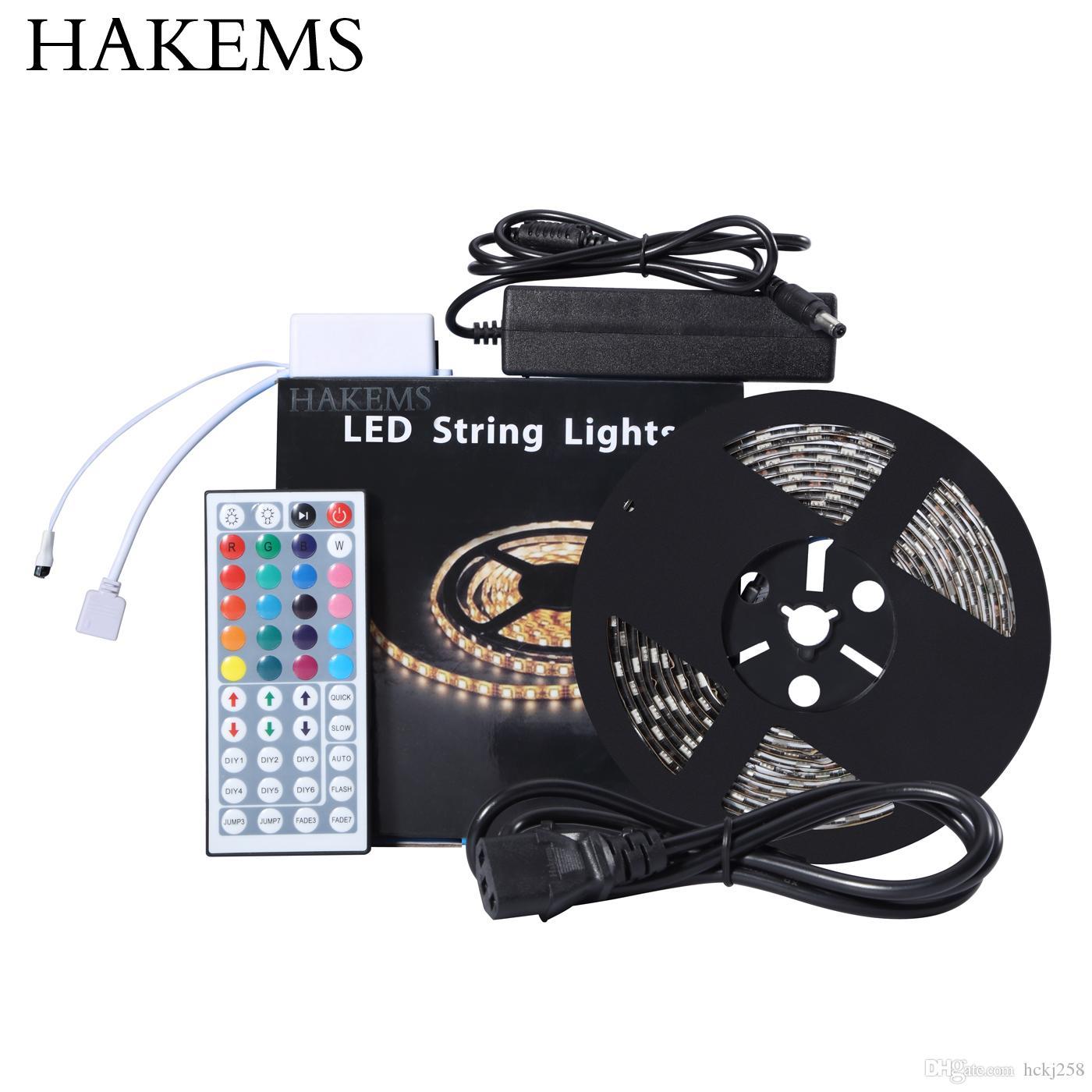 hakems-tm-16-4-ft-led-strip-lights-kit-5m Fabelhafte Led Flex Lichtleisten Set Dekorationen
