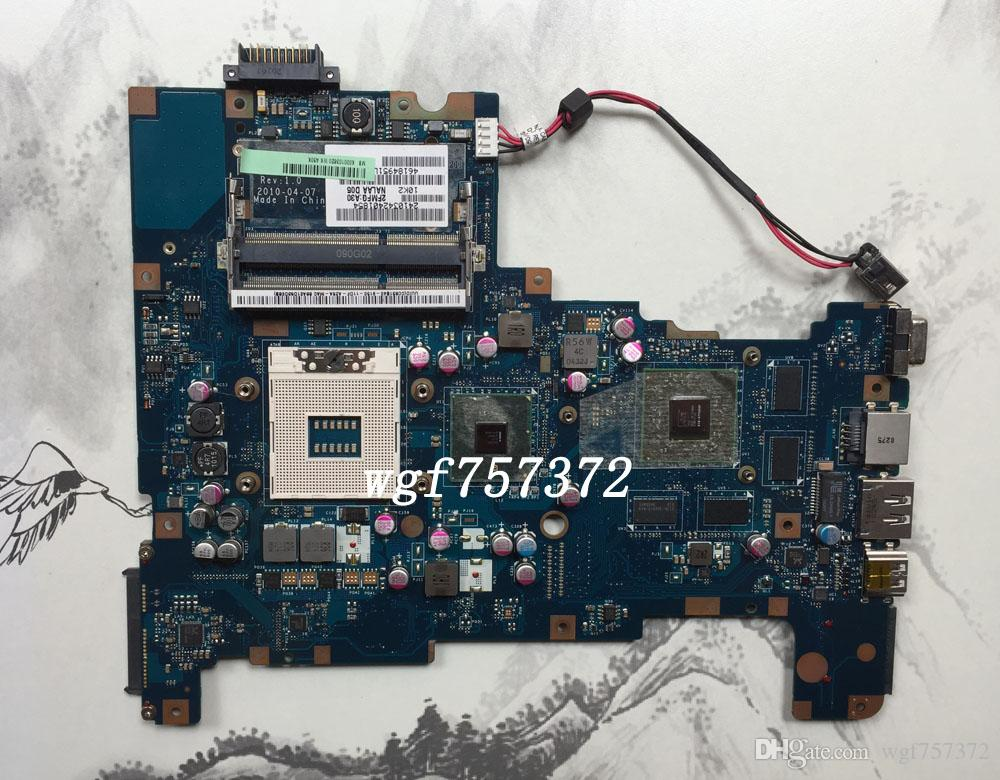 For Toshiba Satellite L670 L675 Laptop Motherboard NALAA LA-6042P K000103820 HM55 DDR3 Notebook System Baord