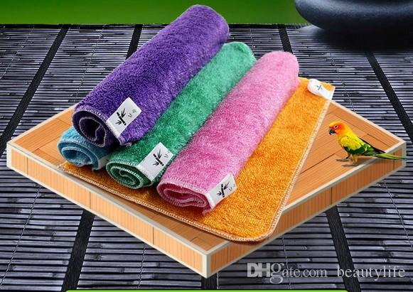 Bamboo fiber dish towel polyester cloth thick bamboo fiber washing cloth do not dip oil water absorbent kitchen washing towel 30 *