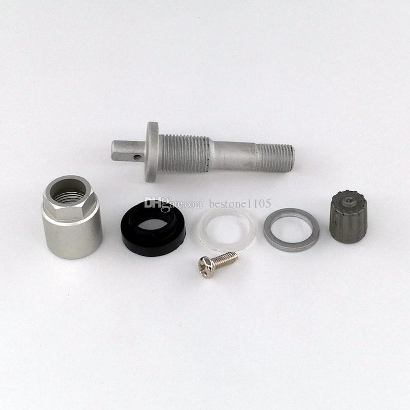 Aluminum TPMS Tire Valve for BUICK Alloy Tubeless Valve for Tyre Pressure Monitor System Sensor Valve Stem Repair Kit