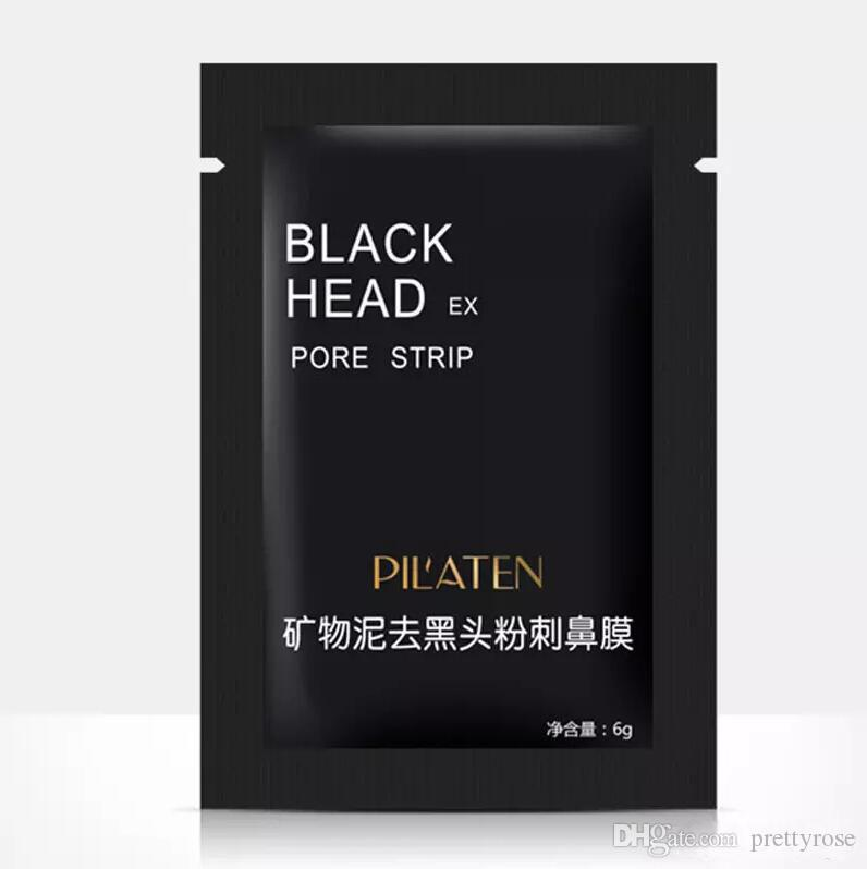 Face Care PILATEN Suction Black Head Mask Cleaning Tearing Style Pore Strip Deep Cleansing Nose Acne Remove