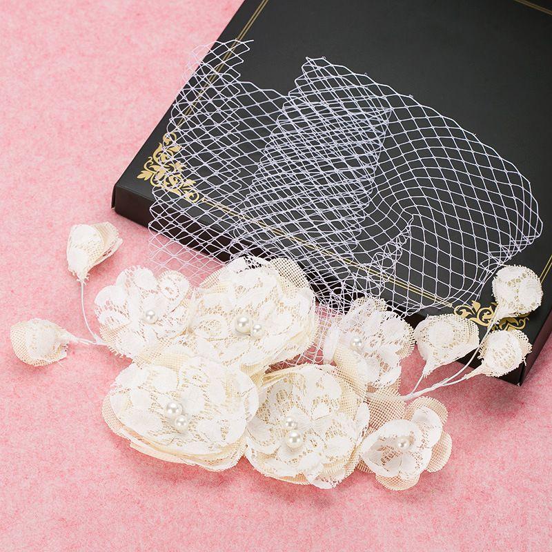 headpiece bridal headpiece para o casamento acessórios para o cabelo da menina de flor por atacado do casamento nupcial acessórios para o cabelo wedding véus de linho flores