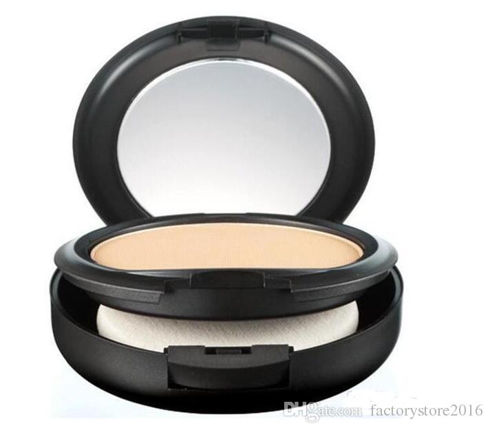 Drop shipping Lowest Price Best Selling New Makeup POWDER PLUS FOUNDATION FOND DE TEINT POUDRS 15g + gift
