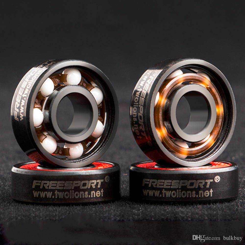 FREESPORT 608RS Gute Roller Skates Keramikkugel Inline Skate Bearings Drift Plate Großhandel