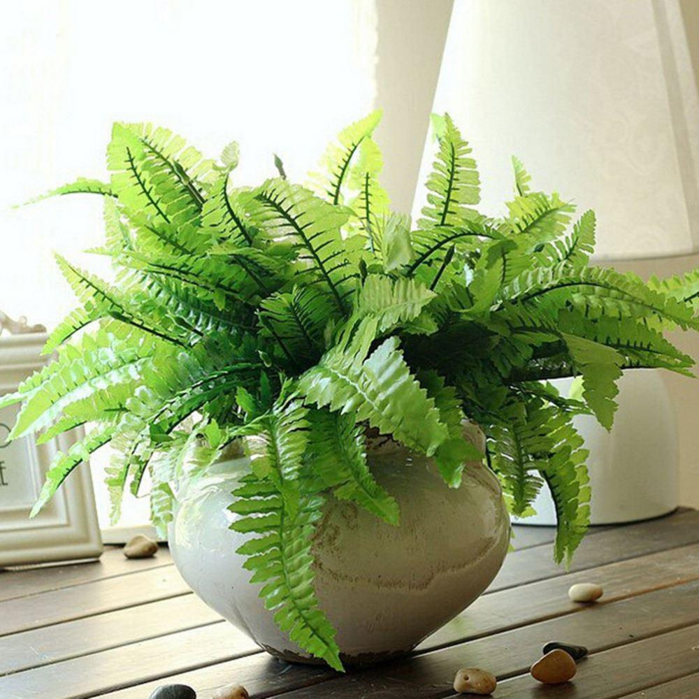 2018 7 Fork Green Grass Artificial Plants For Household Store Imitation  Fern Plastic Artificial Grass Leaves Plant Home Decor From Syc9, $9.71 |  Dhgate.Com