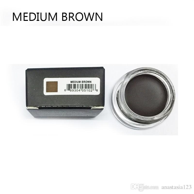 Disponibile! Crema sopracciglia Pomata Medium Brown Impermeabile Trucco Trucco Sopracciglio 4G Bionde Cioccolato Brown Brown Ebony Auburn Medium Brown Talpe + Regalo
