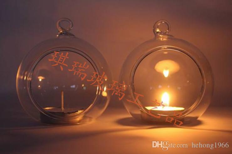 Globe Planter Vase Romantic Home Furnishing Glass Candle Holder High Quality Hanging Tealight Holders Crystal Candlestick Hot Sale 3 1qr3