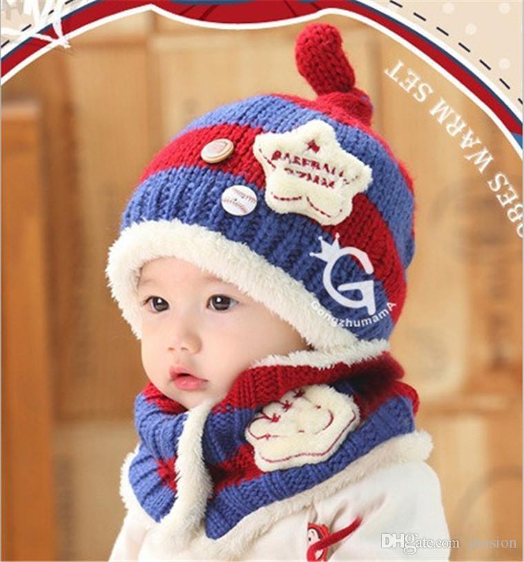 Großhandel Kind Hut Koreanische Version Der Baby Palmen Strickenden ...
