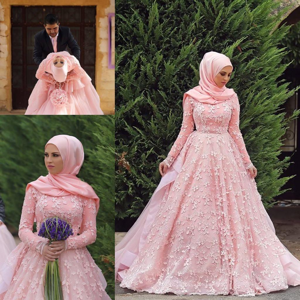 Atractivo Vestido De Novia Musulmán Ornamento - Colección de ...