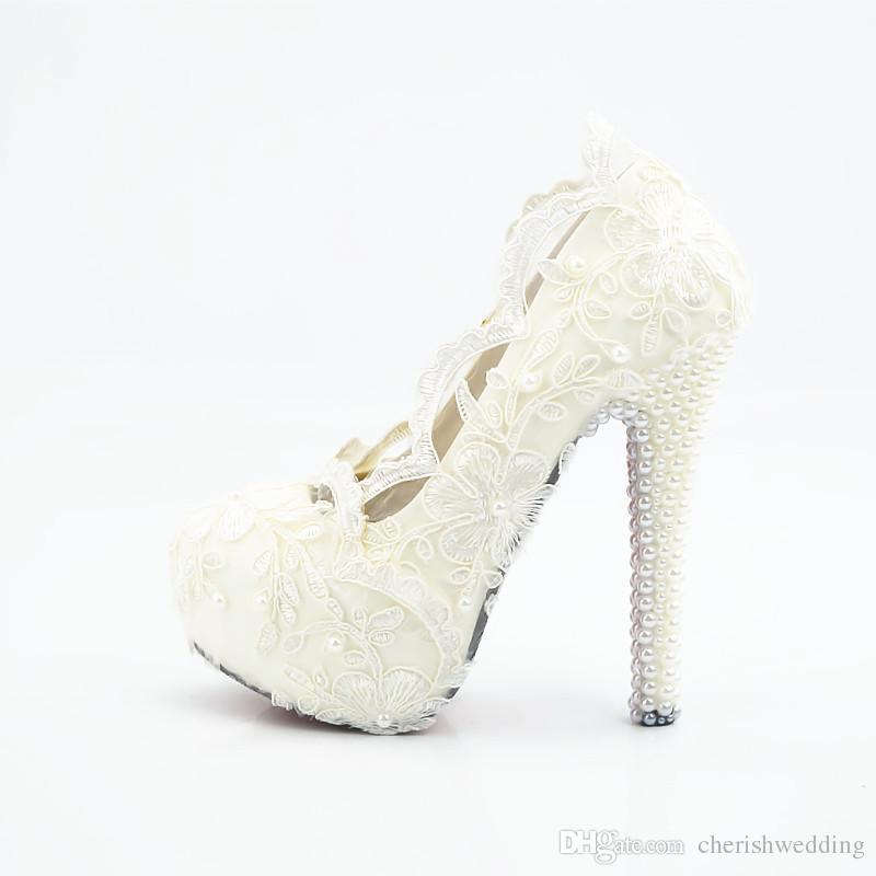 0f17035f9 2017 Новые свадебные туфли Кружева Свадебная обувь Дешевые цены Свадебная  обувь