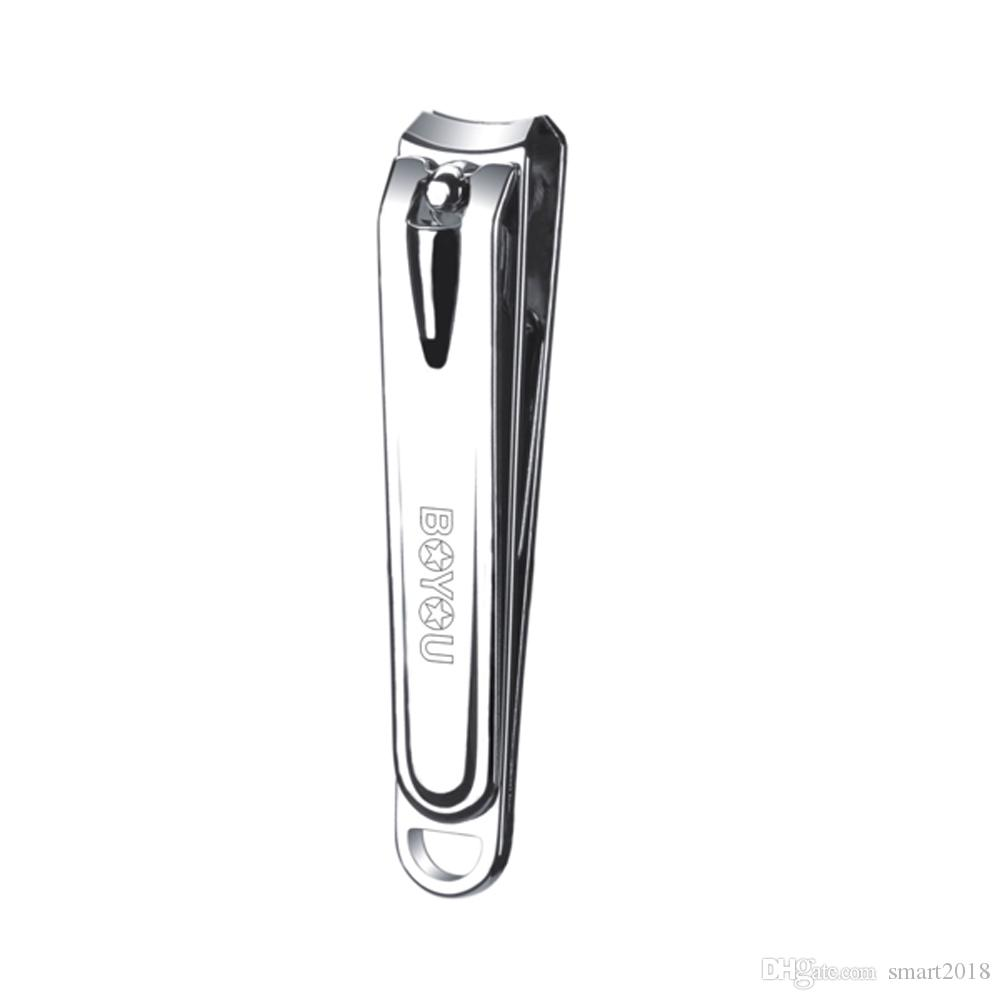 boyou nail clippers anti splash design fingernail clipper