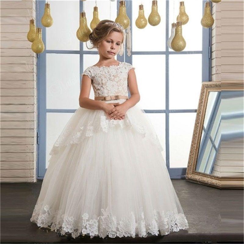 ed9945182d Cheap Wholesale Baby Girls Christening Dresses Discount Beautiful Girls  Cute Dresses