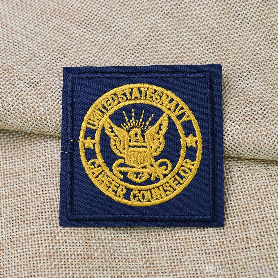golden bird badge embroidery patches for clothing iron patch for clothes applique sewing accessories on stickers cloth iron on patches