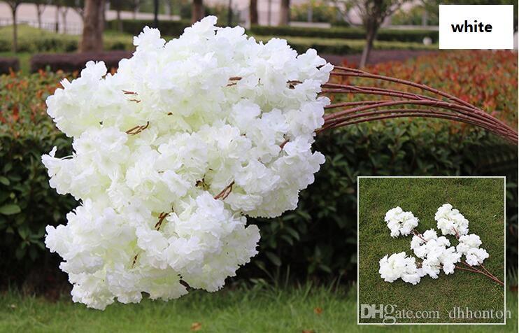 Artificial cherry blossom multi-color optional wedding decoration sakura 39 Inch 100 cm long WQ20