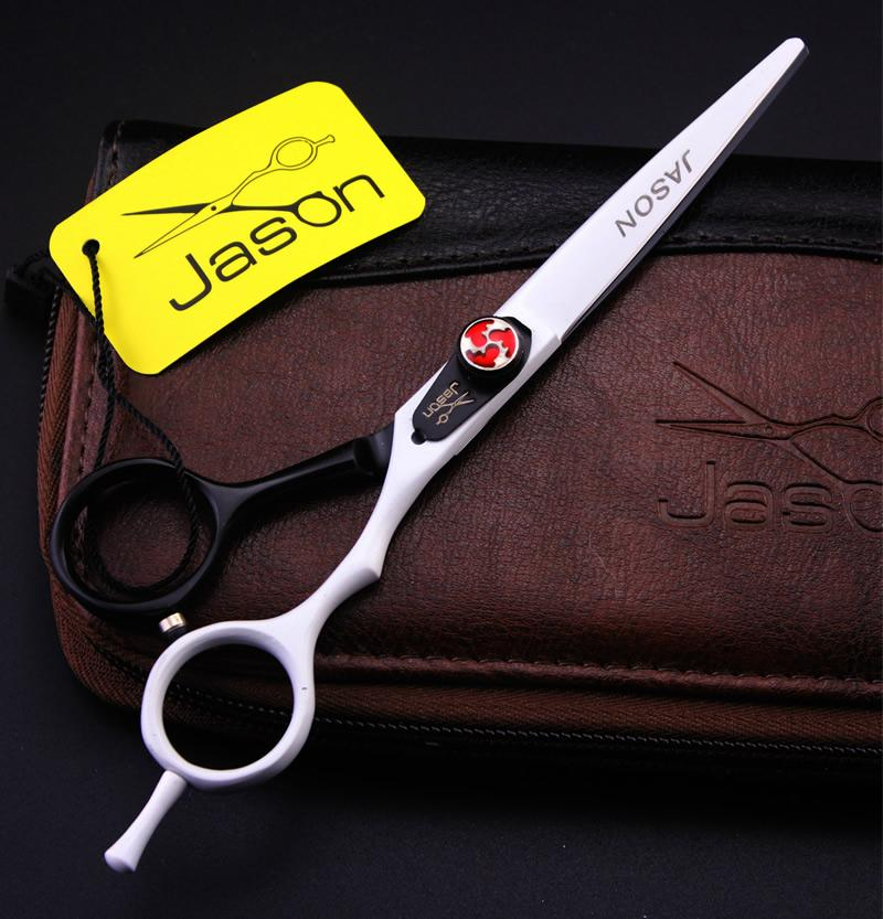 6.0Inch Jason JP440C Professional Hairdressing Scissors Kits Cutting & Thinning Scissors Hair Scissors Barber Scissors, LZS0517