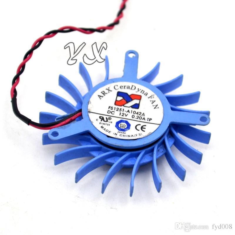 Tarjeta de video envío gratis fanNew 3650AGP Tarjeta gráfica ventilador FS1251-A1042A 5cm diámetro FS1251-A1042A 12V 0.2OA