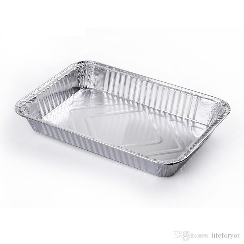 2019 Aluminum Foil Steam Table Pans Homemade Cakes Breads Meatloaf And Quiche Baking Tool Disposable Capacity  Pack From Lifeforyou