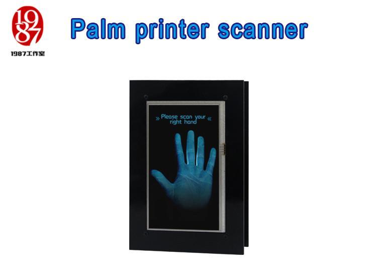 Palm printer scanner prop Takagism game Real life escape room set identify plam to unlock jxkj1987 room escape item Palmprint