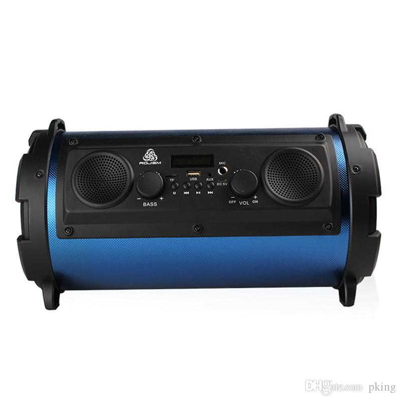 15W Big Power HiFi Wireless Bluetooth Speaker Outdoor Multifunction Subwoofer Cool LED Light Stereo Bass Music Player