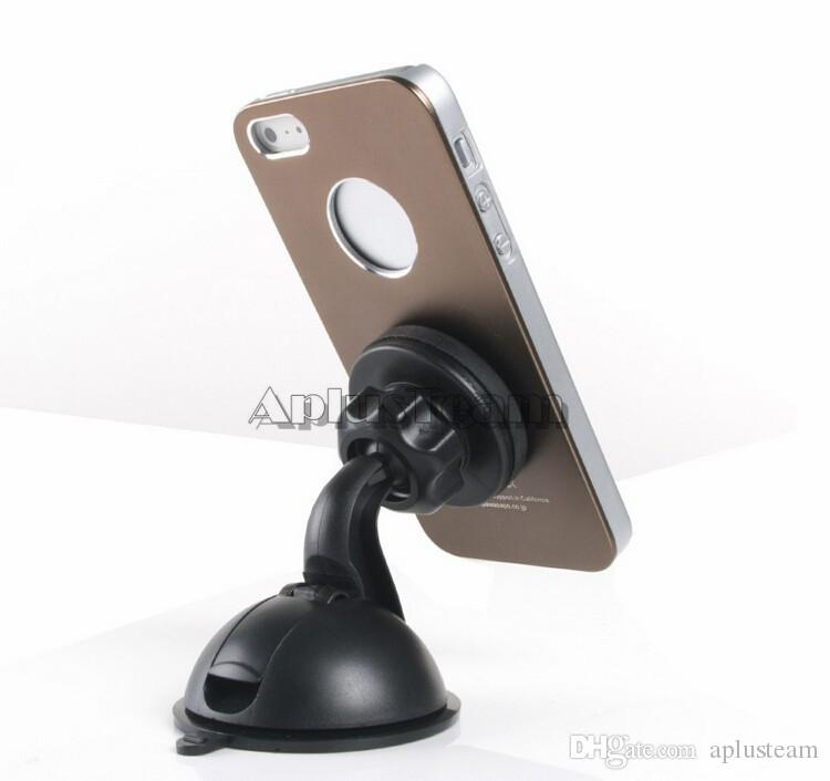 Universal Magnet Magnetic Car Dashboard Mount Phone Holder Windshield Suction Cup Mount Stand Holder for iphone Samsung LG Cell phone GPS