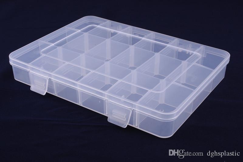 2018 Nuova scatola di immagazzinaggio di plastica di modo piccolo contenitore del supporto della cassa dei pezzi dell'hardware i piccoli accessori 1202 promozione di festa