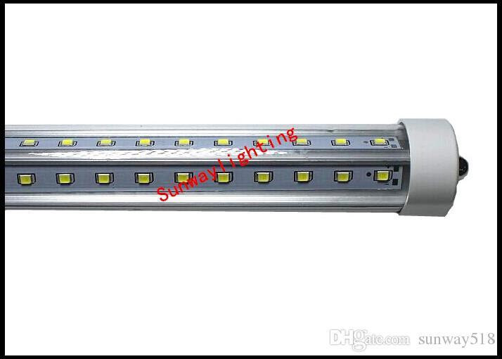 4FT 5FT 6FT 8FT V-образного светодиода T8 T10 T10 T10 TO5 Light Super Bright SMD2835 Светодиодная люминесцентная лампа AC 85-265V