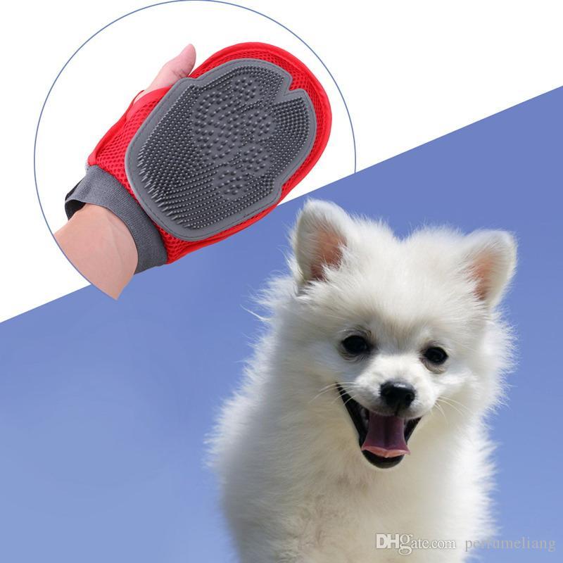 Katze Haustier Hund Fellpflege Bräutigam Handschuh Handschuhbürste Kamm Massagebad Nagelneu große Hundewaschwerkzeug Bubble Maker S201778