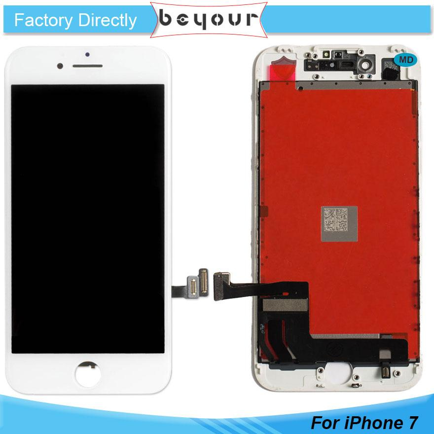 huge discount 6cc1b 299d7 For iPhone 7 7G 7 Plus LCD Display Touch Screen Digitizer Assembly  Replacement Parts No Dead Pixels AAA Quality 7Plus