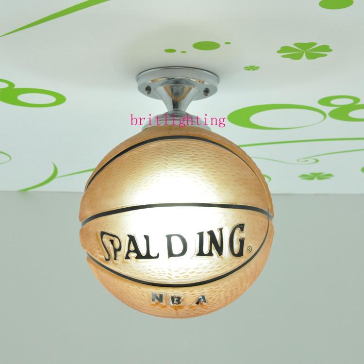 kitchen basketball ceiling light bathroom light ceiling lamp baby football ceiling lights glass hanging lamp