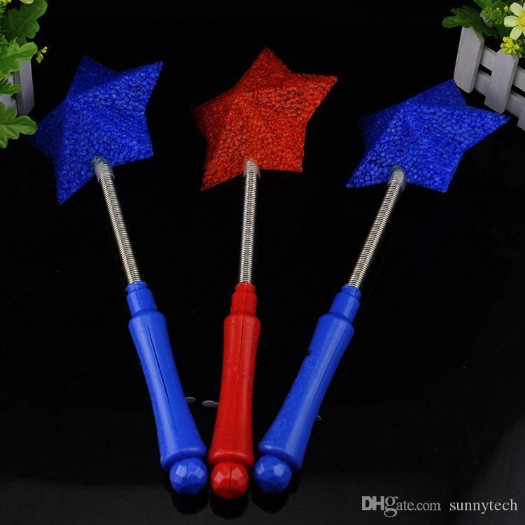 Star Love Heart Flower Wand Flashing LED Glow Light Sticks Blinking Stick Kids Child Light Up Toy Party Concert Novetly Led Toys ZA1459