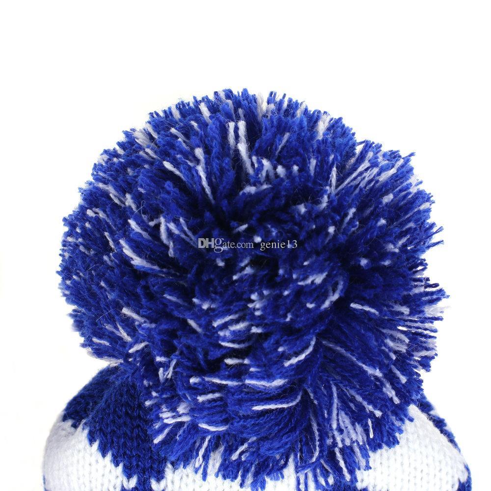 Гольф-водитель фарватер Вудс клуб вязать головной убор набор синий/белый алмаз вязать Пом Пом носок глава охватывает набор из 3 шт #1#3#5 Бесплатная доставка
