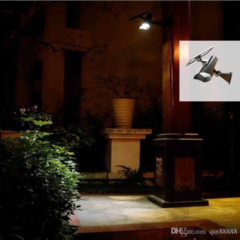 도매 8LED 태양 전원 스포트 라이트 야외 정원 풍경 잔디 마당 경로 스팟 장식 조명 램프 자동차에