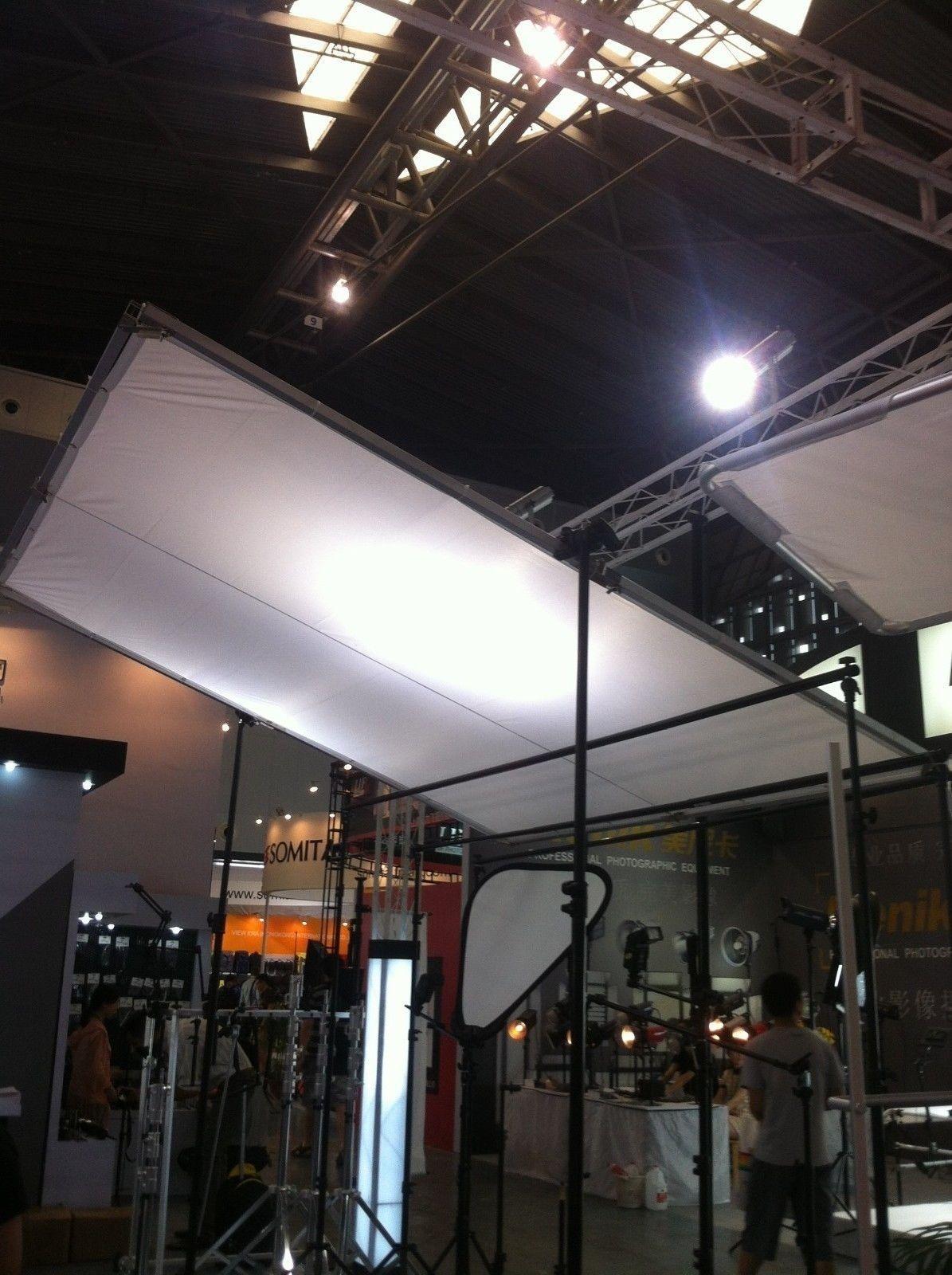 Compre 2.4x2.4m 8\'x8 \'kit De Mariposa 8x8 Marco Plegable + Seda De ...