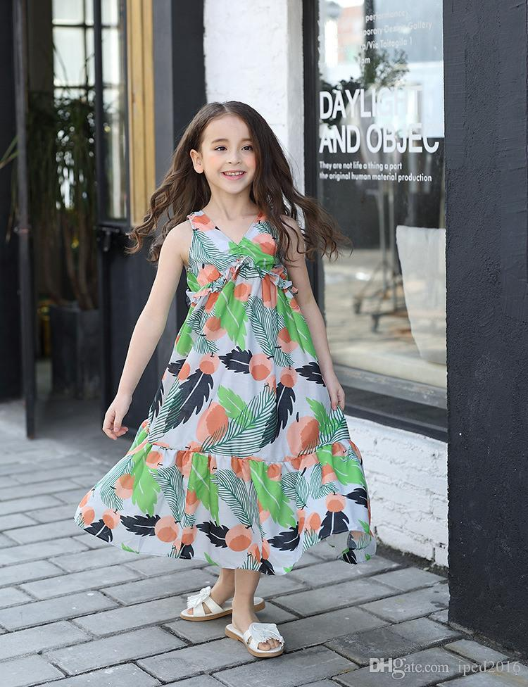 2017 2017 Best Selling Summer Dress For Girls Dress Cartoon Kids ...