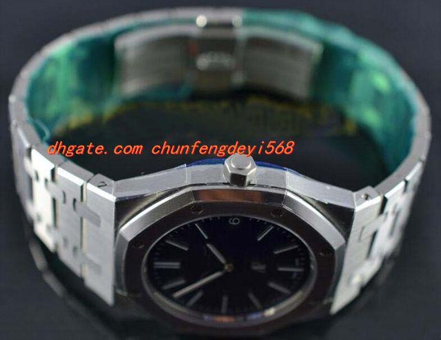 Moda Lüks Saatler Ultra Ince st.oo.1240st.01 Mavi 39mm Otomatik Mens Watch Erkekler Saatler erkek Izle Üst Kalite
