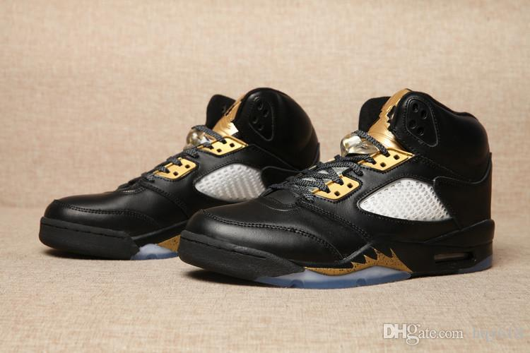 Air Retro 5 Olympic Gold Medal Online Mens Basketball Shoes V 5s Sneakers  Wholesale Hot Good Quality Kids Sneakers Shoes Basketball From Hqy618