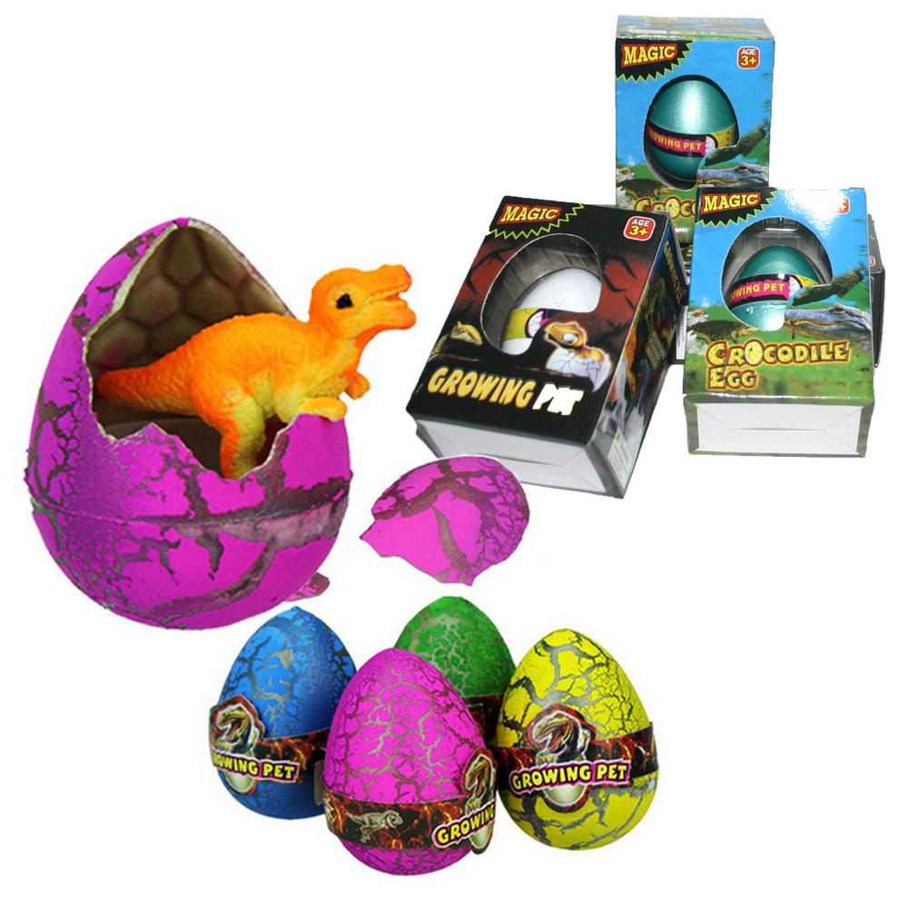 2017 wholesale with box easter eggs novelty magic water growing
