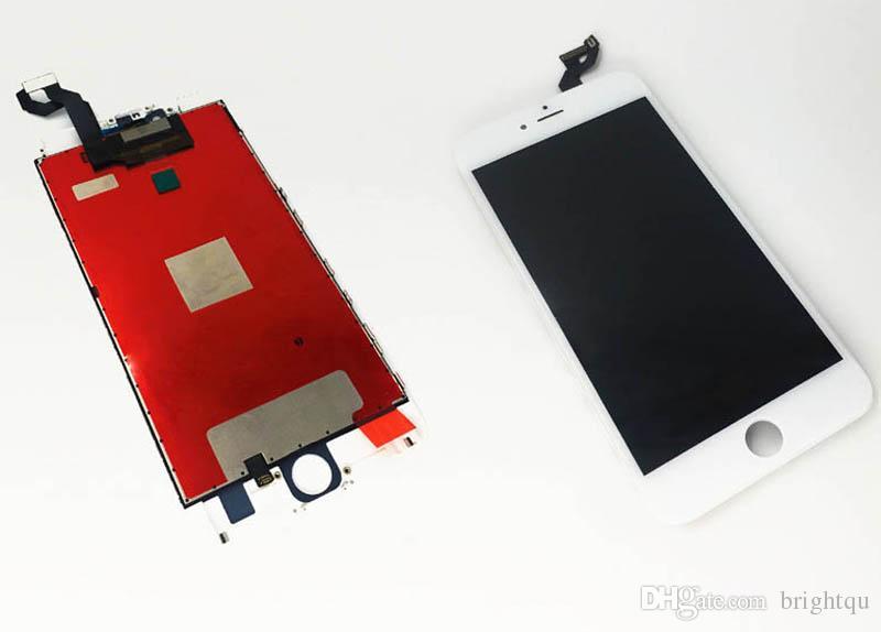 Yüksek Kaliteli Yok Ölü Piksel LCD dokunmatik ekran Apple iPhone4 Için yedek 4G 4 S 5G 5 5 S 5C LCD Sayısallaştırıcı Ile min 40 adet Yedek