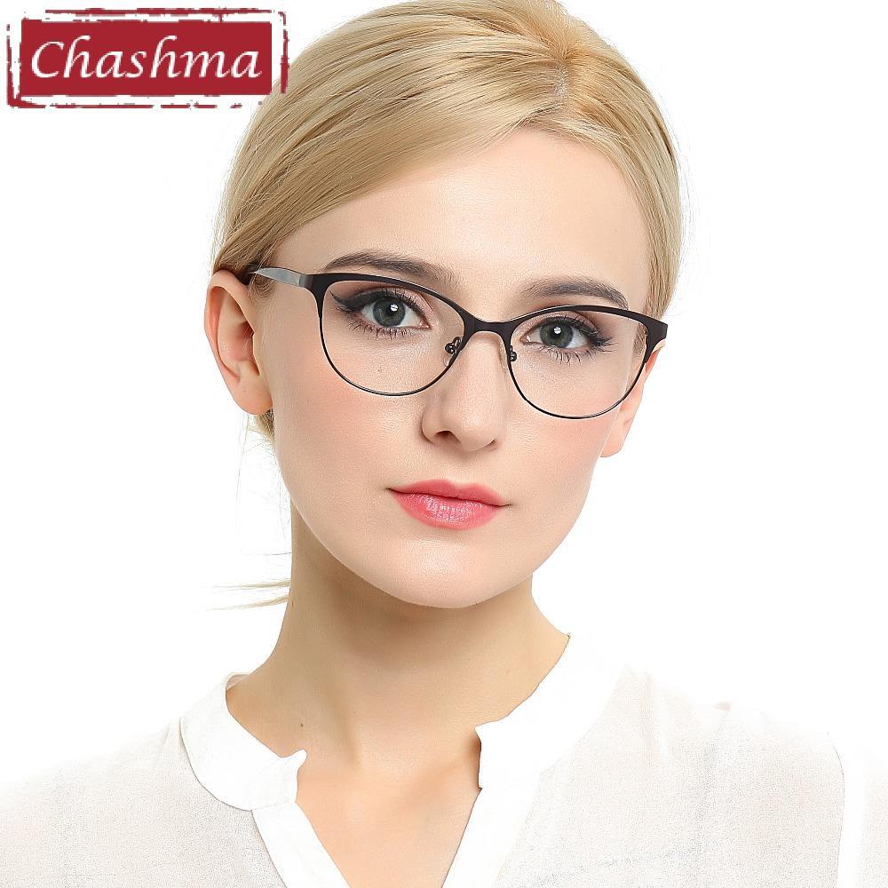 Chashma Neue Design Frauen Optische Gläser Rahmen Runde Retro Brille Mode Brillen Für Weibliche Bekleidung Zubehör